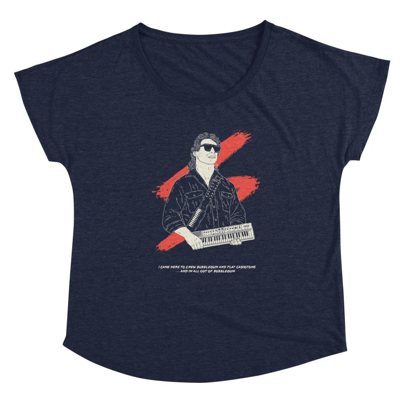 Chewing Bubblegum and Playing Casiotone Women's Scoop Neck by velcrowolf
