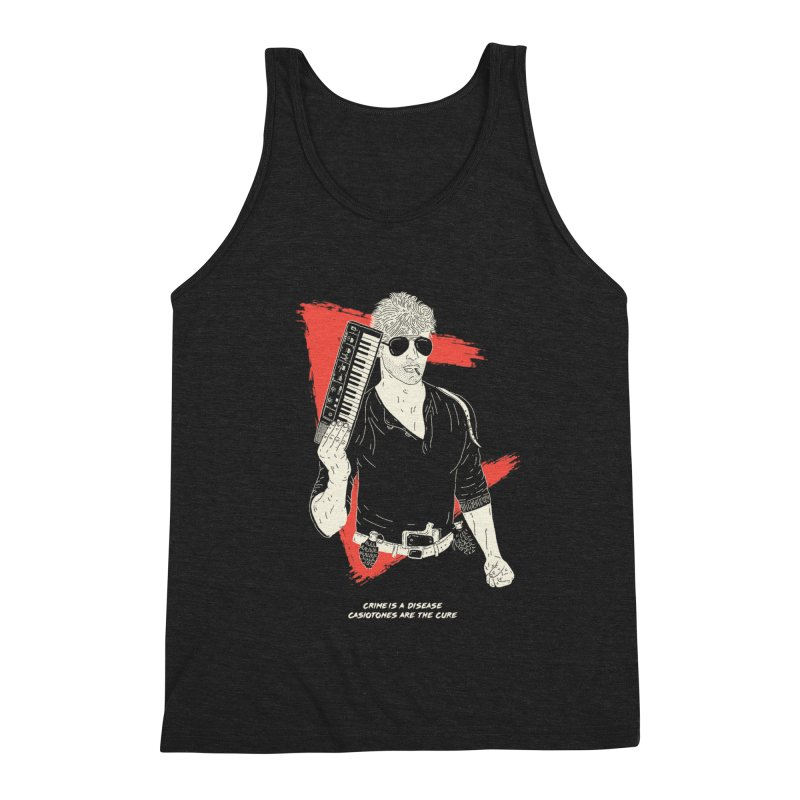 Crime is a Disease, Casiotones are the Cure Men's Tank by velcrowolf