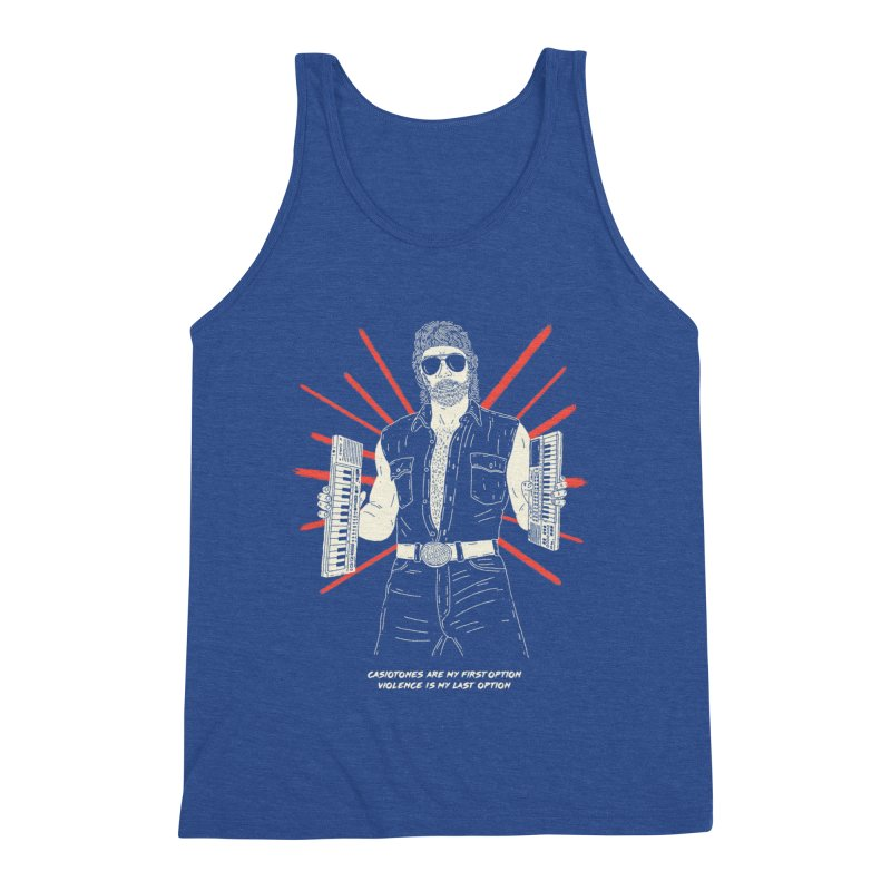 Casiotones are Chuck's First Option Men's Tank by velcrowolf