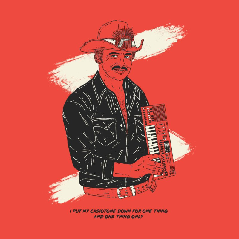 Burt Reynolds only puts his Casiotone down for one thing Men's T-Shirt by velcrowolf