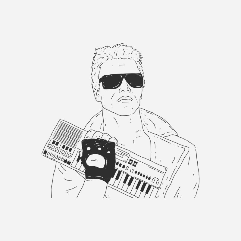 Terminator needs your casio None  by velcrowolf