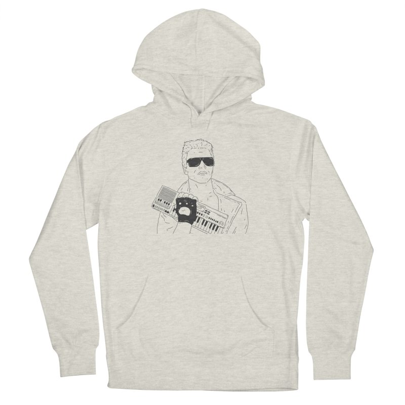 Terminator needs your casio Men's French Terry Pullover Hoody by velcrowolf
