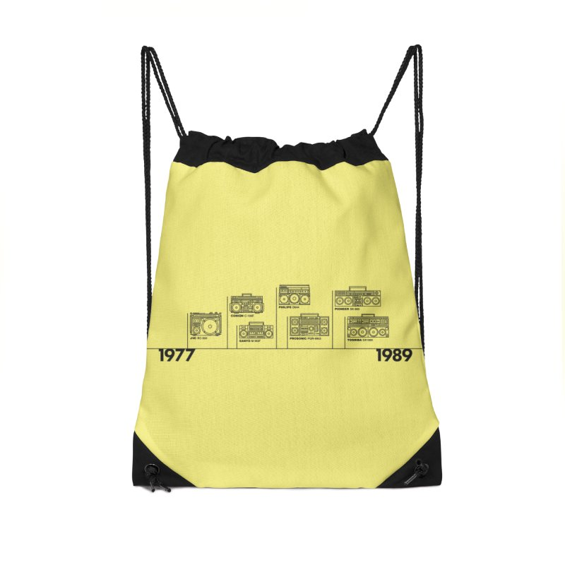 The Boombox Golden Years Timeline - Alt Accessories Bag by velcrowolf