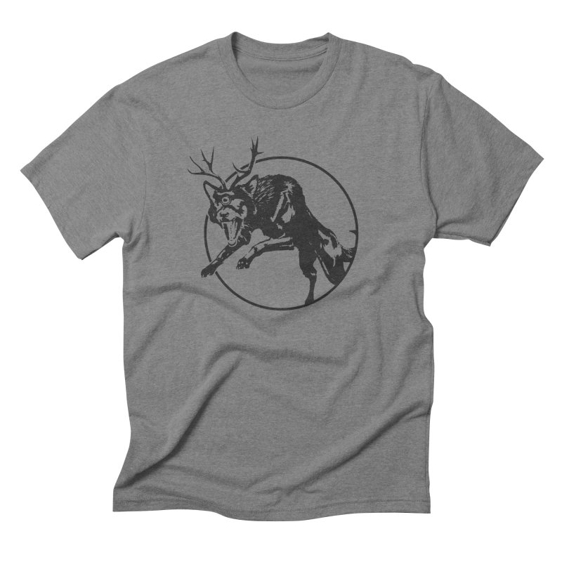 cyclops wolf Men's Triblend T-Shirt by velcrowolf