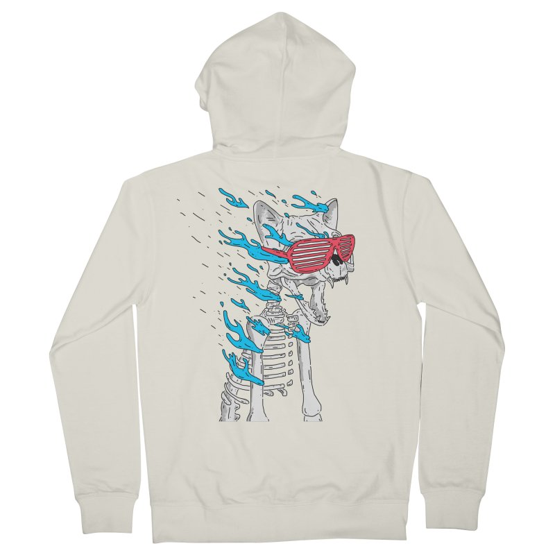 Face Melted Cat Women's Zip-Up Hoody by velcrowolf