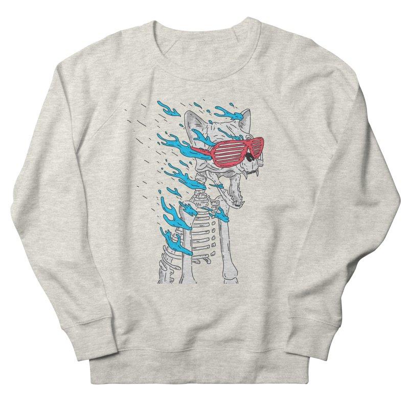 Face Melted Cat Women's Sweatshirt by velcrowolf