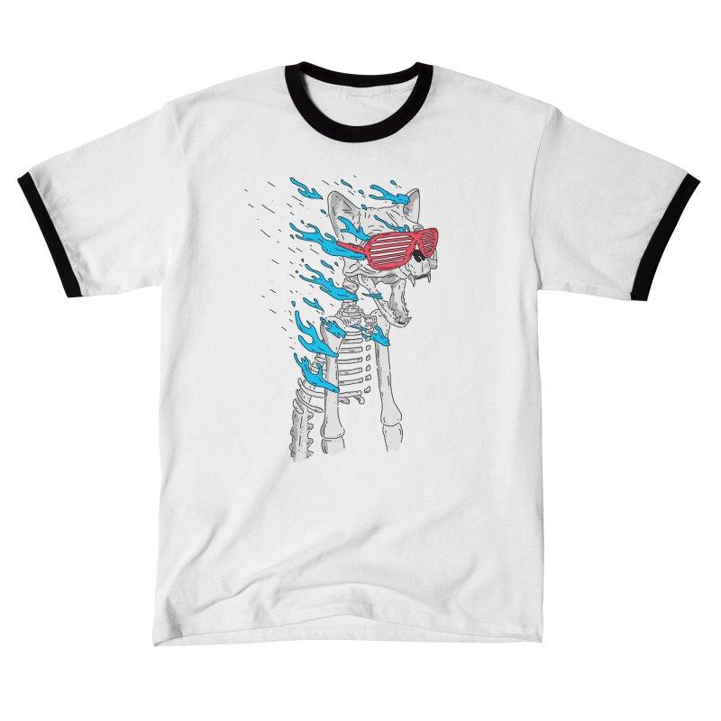 Face Melted Cat Women's T-Shirt by velcrowolf