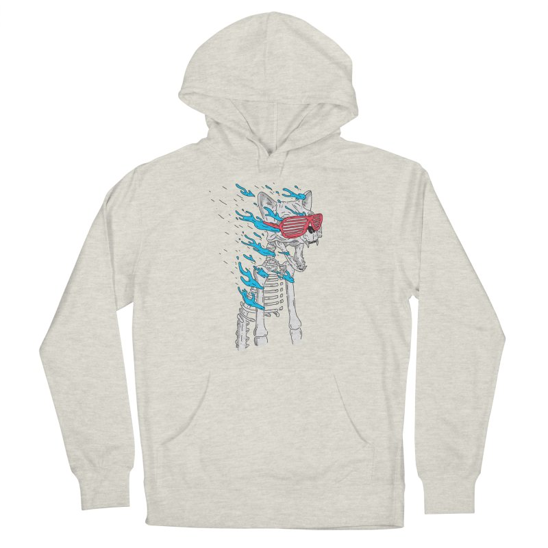 Face Melted Cat Men's Pullover Hoody by velcrowolf