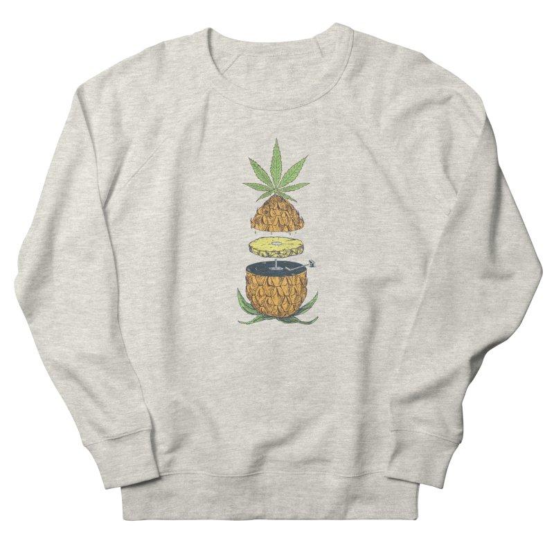 Pineapple Power Men's Sweatshirt by velcrowolf