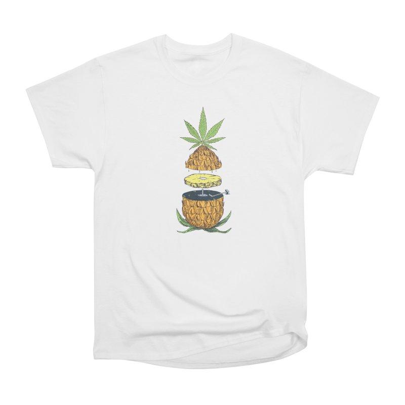 Pineapple Power Women's Heavyweight Unisex T-Shirt by velcrowolf