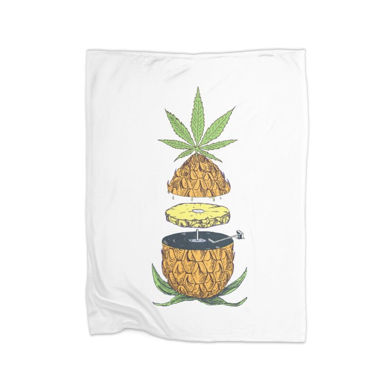 Pineapple Power Home Blanket by velcrowolf