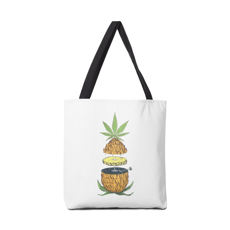 Pineapple Power Accessories Bag by velcrowolf