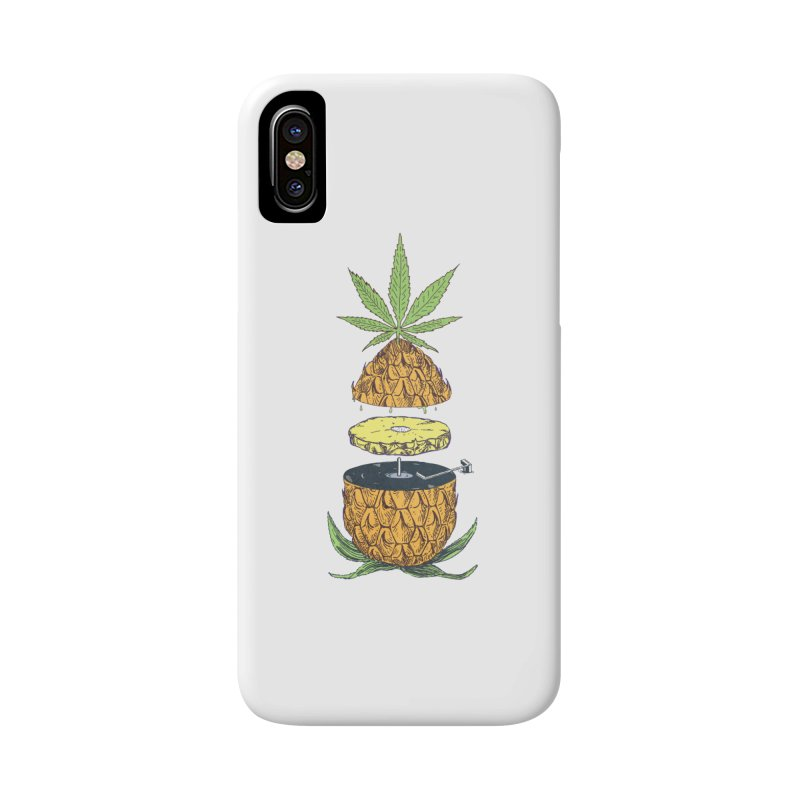 Pineapple Power Accessories Phone Case by velcrowolf