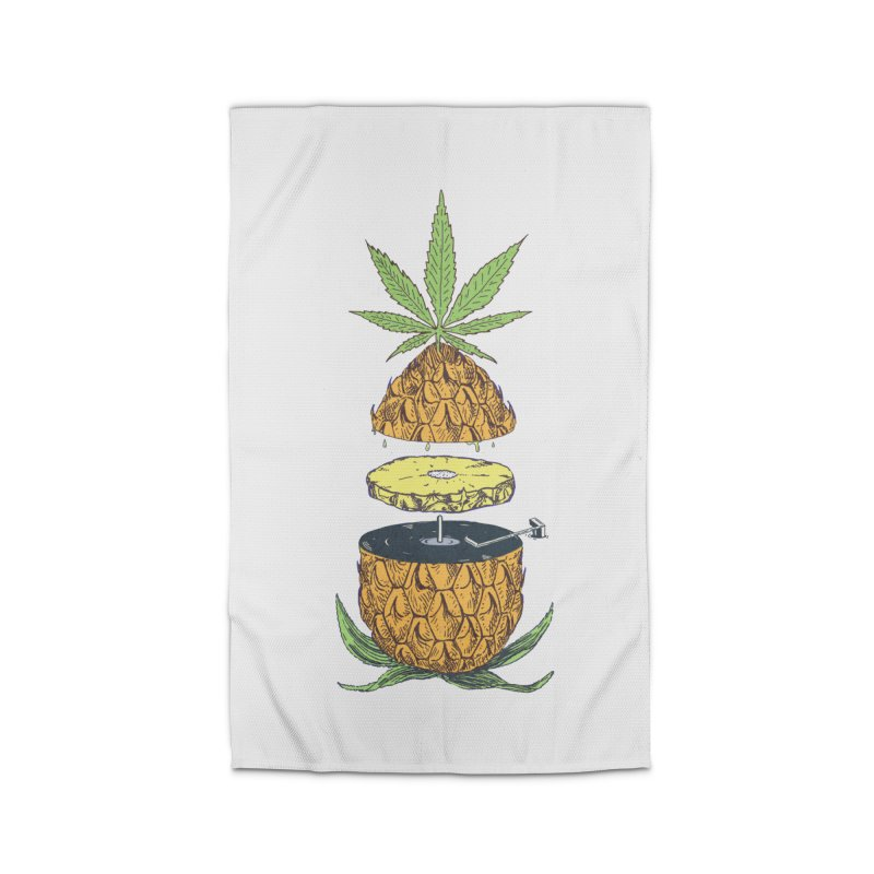Pineapple Power Home Rug by velcrowolf
