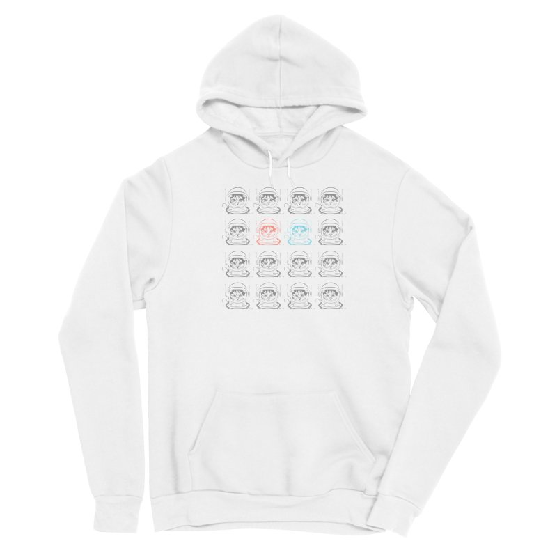 laser cat Men's Pullover Hoody by velcrowolf