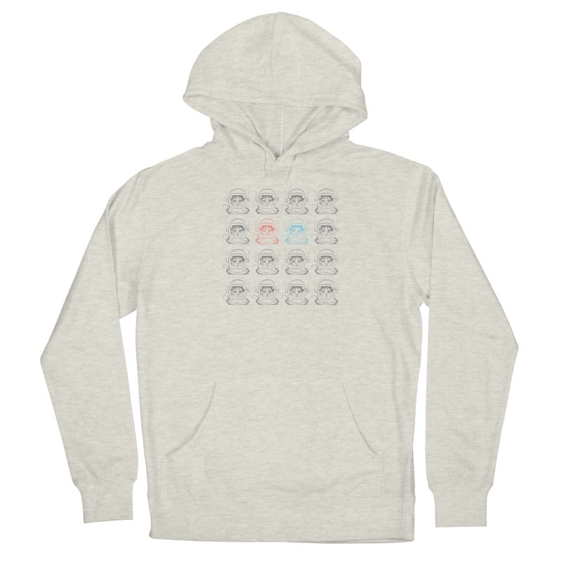 laser cat Men's French Terry Pullover Hoody by velcrowolf