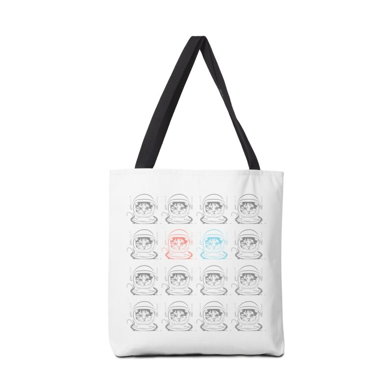 laser cat Accessories Bag by velcrowolf