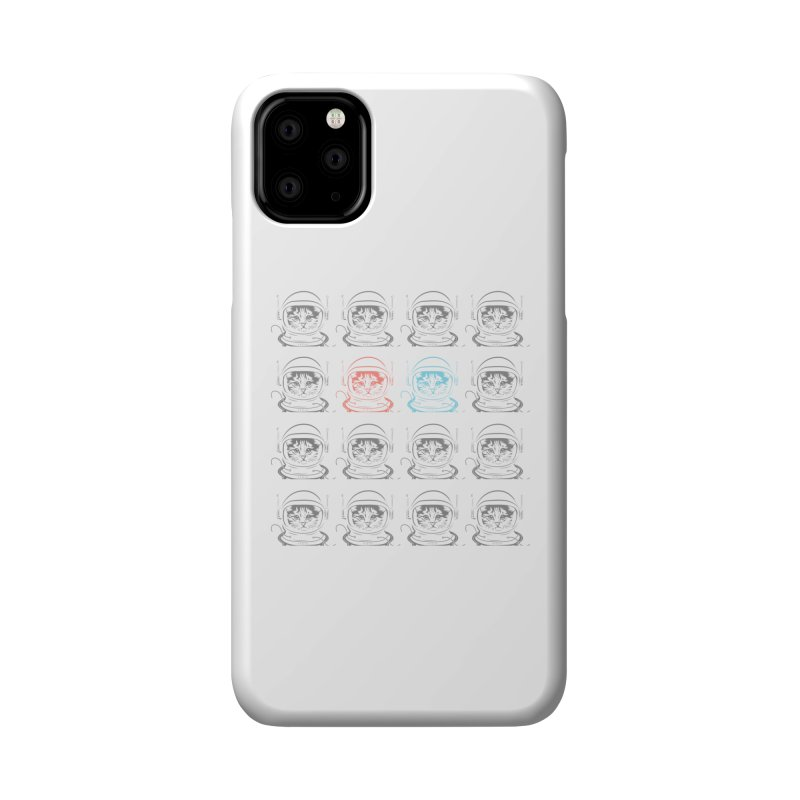 laser cat Accessories Phone Case by velcrowolf