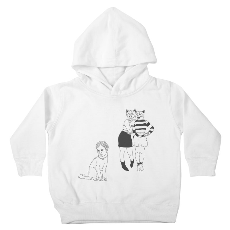 Cat Bullies Kids Toddler Pullover Hoody by velcrowolf
