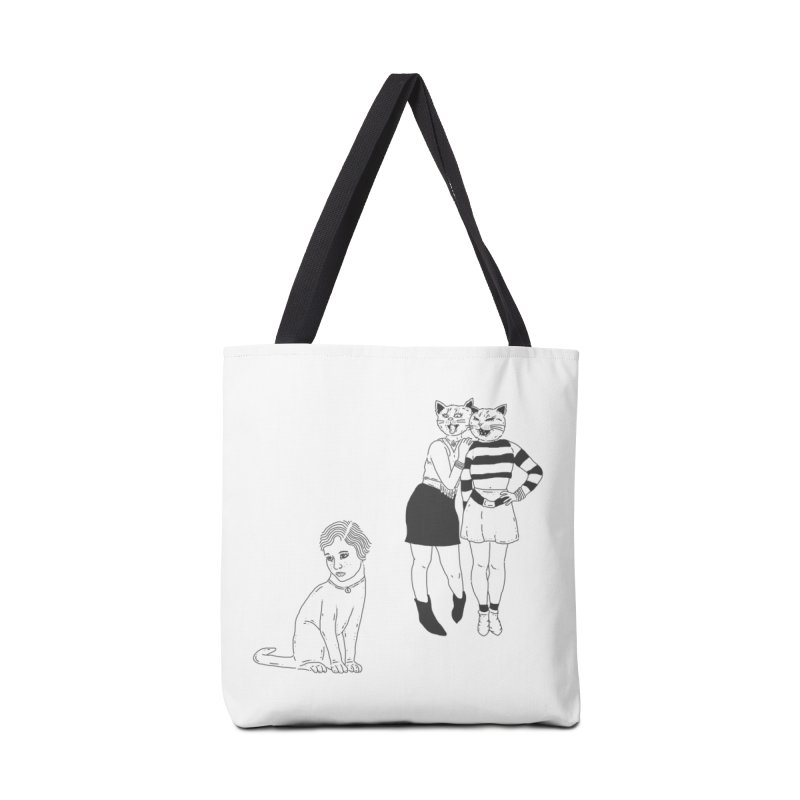 Cat Bullies Accessories Bag by velcrowolf