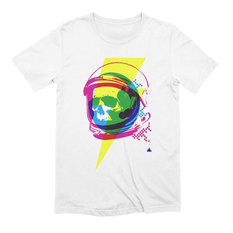 Skeletons in Spacesuits Men's Extra Soft T-Shirt by velcrowolf