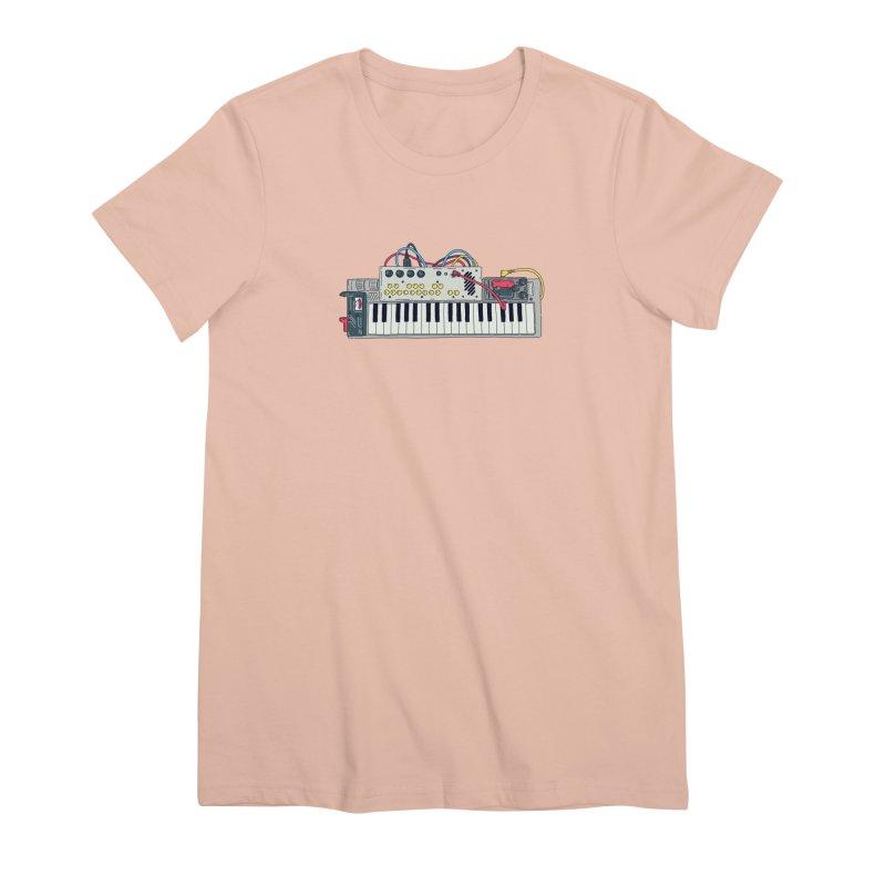 Casio Supermod Women's Premium T-Shirt by velcrowolf