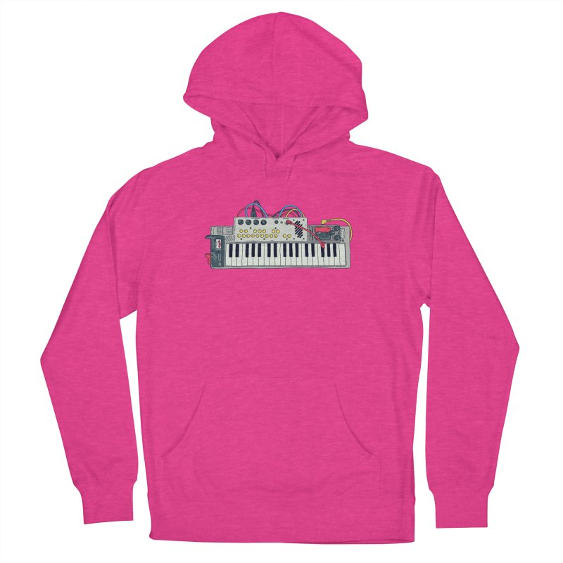 Casio Supermod Women's French Terry Pullover Hoody by velcrowolf