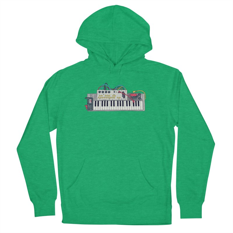 Casio Supermod Men's French Terry Pullover Hoody by velcrowolf