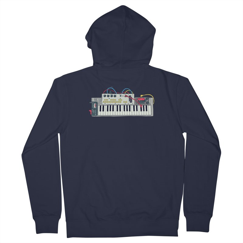 Casio Supermod Men's French Terry Zip-Up Hoody by velcrowolf