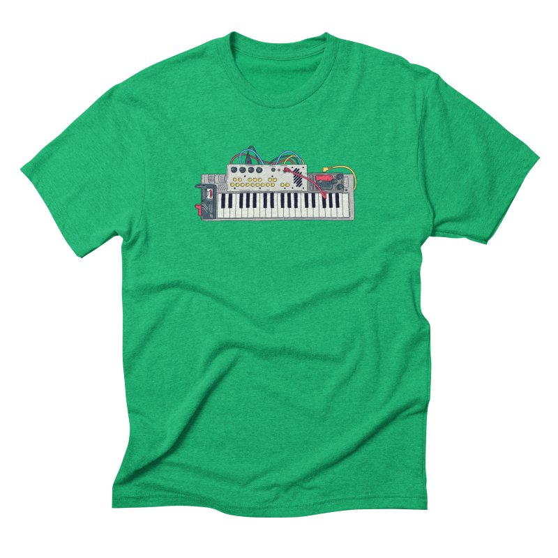 Casio Supermod Men's Triblend T-Shirt by velcrowolf