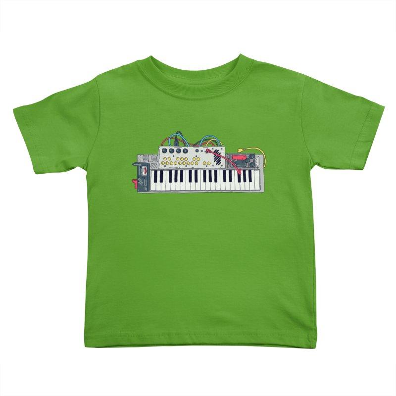 Casio Supermod Kids Toddler T-Shirt by velcrowolf