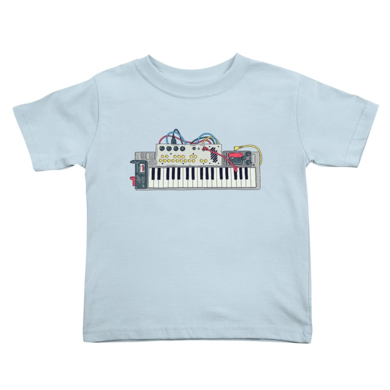Casio Supermod Kids Toddler T-Shirt by velcrowolf