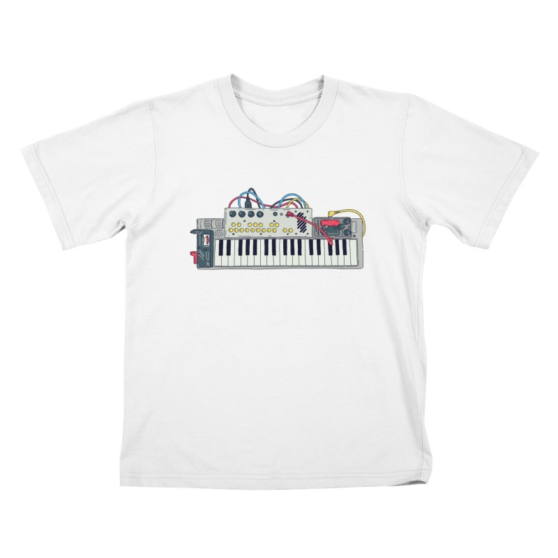 Casio Supermod Kids T-Shirt by velcrowolf