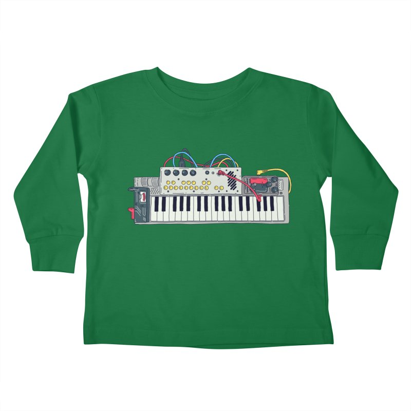 Casio Supermod Kids Toddler Longsleeve T-Shirt by velcrowolf