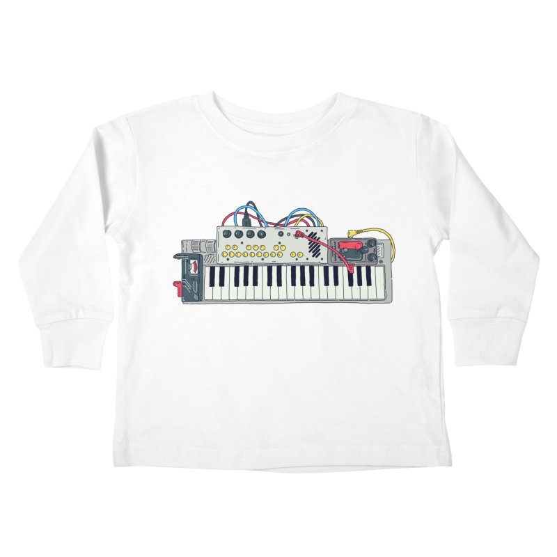 Casio Supermod Kids Toddler Longsleeve T-Shirt by velcrowolf