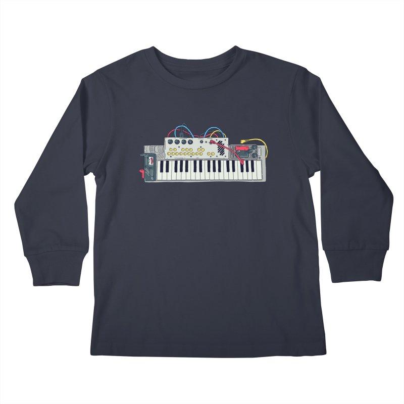 Casio Supermod Kids Longsleeve T-Shirt by velcrowolf
