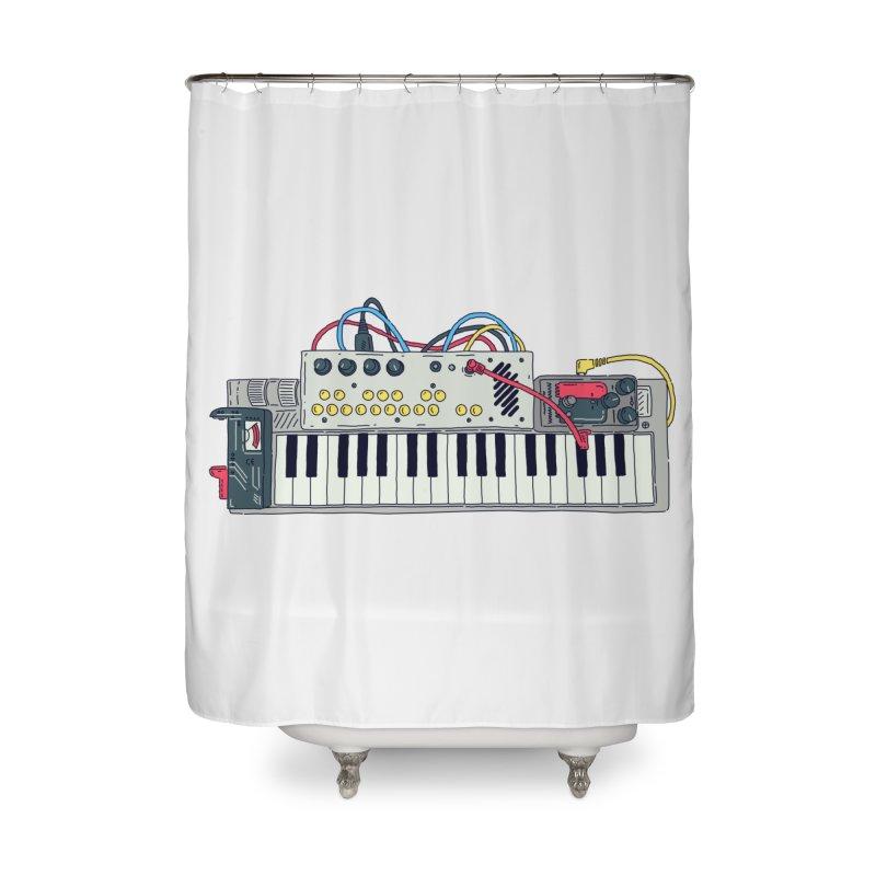 Casio Supermod Home Shower Curtain by velcrowolf