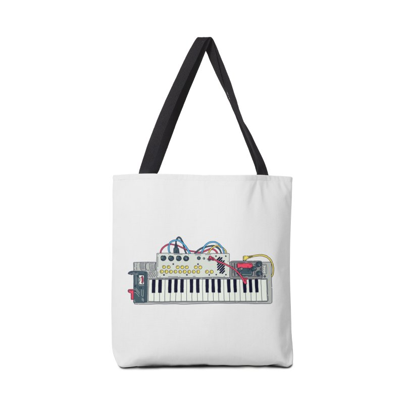 Casio Supermod Accessories Tote Bag Bag by velcrowolf