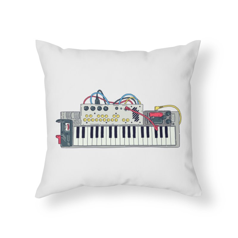 Casio Supermod Home Throw Pillow by velcrowolf