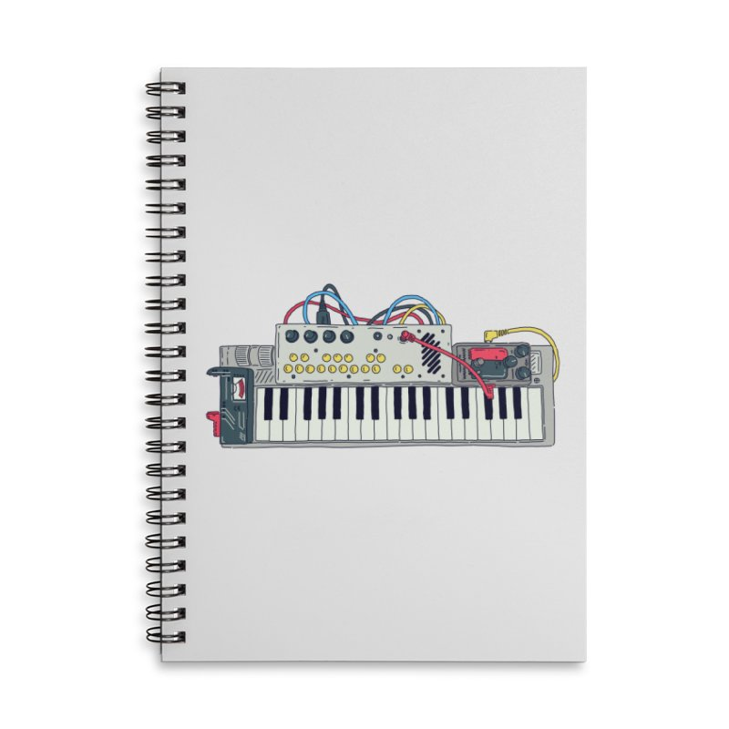 Casio Supermod Accessories Lined Spiral Notebook by velcrowolf