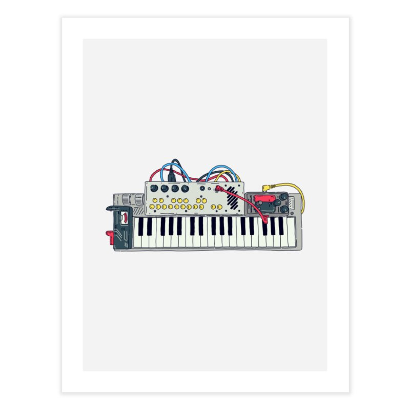 Casio Supermod Home Fine Art Print by velcrowolf