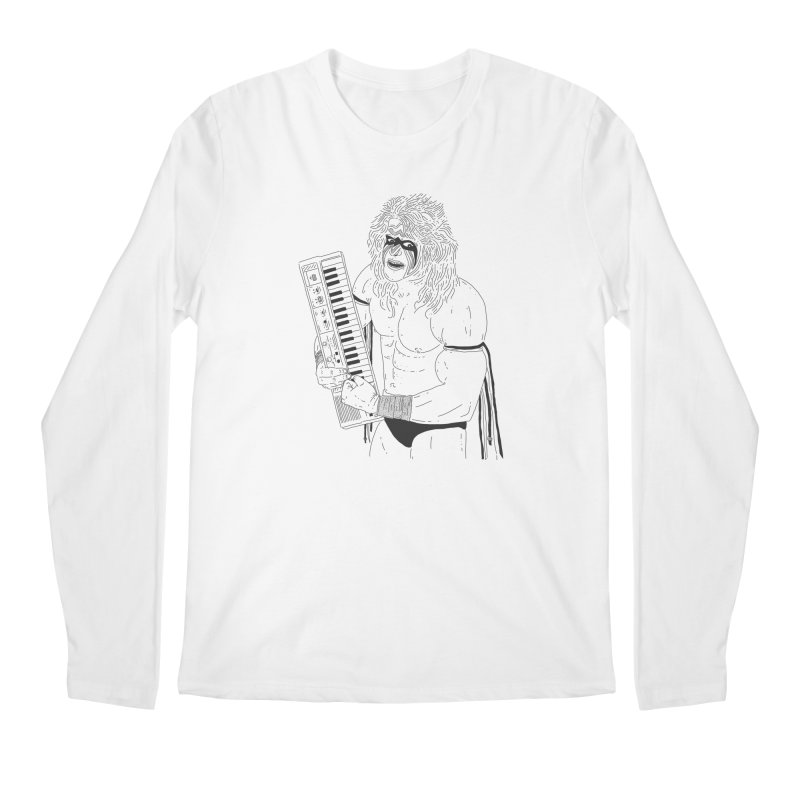 Ultimate Casiotone Warrior Men's Longsleeve T-Shirt by velcrowolf