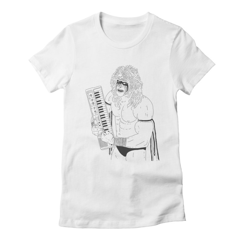 Ultimate Casiotone Warrior Women's Fitted T-Shirt by velcrowolf