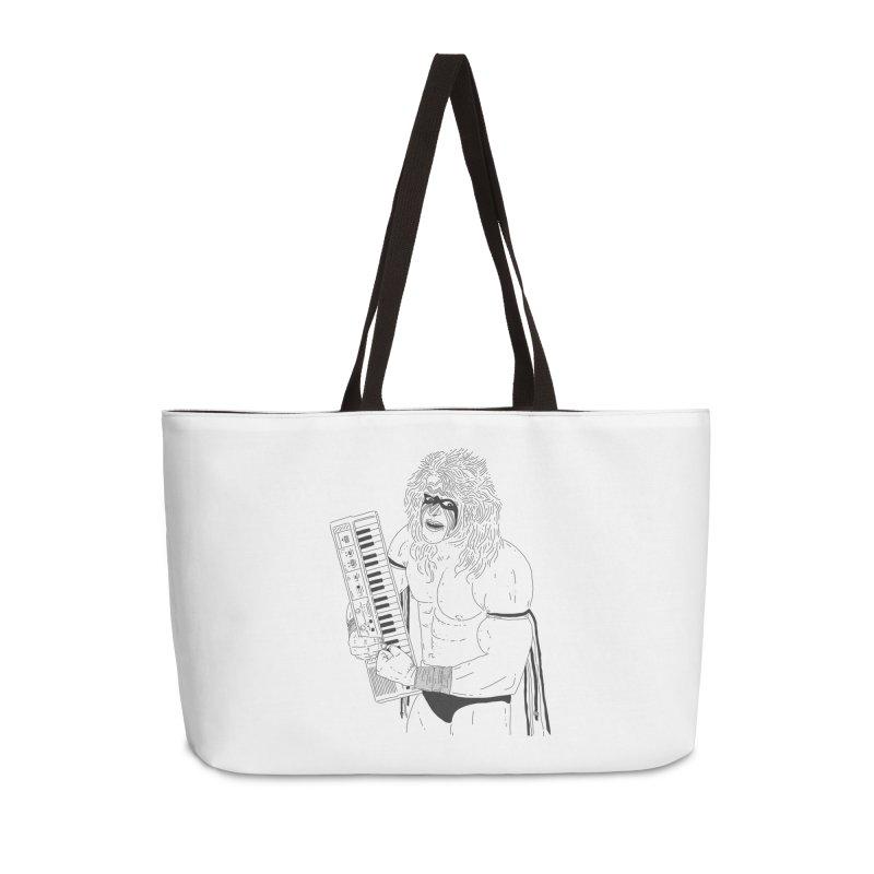 Ultimate Casiotone Warrior Accessories Weekender Bag Bag by velcrowolf