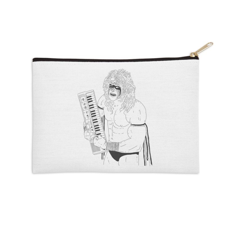 Ultimate Casiotone Warrior Accessories Zip Pouch by velcrowolf