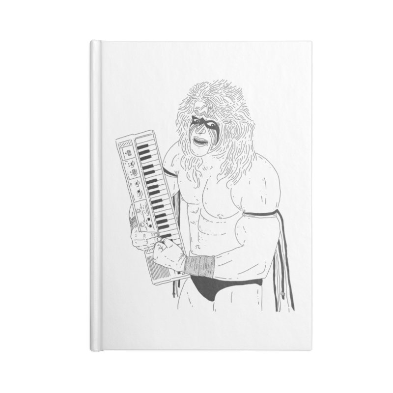 Ultimate Casiotone Warrior Accessories Lined Journal Notebook by velcrowolf