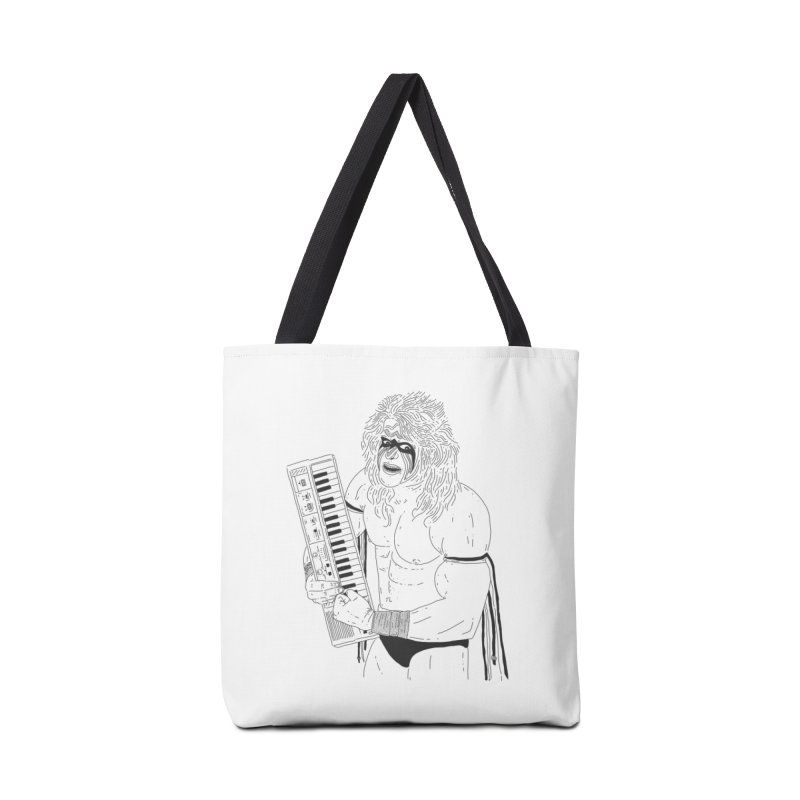 Ultimate Casiotone Warrior Accessories Tote Bag Bag by velcrowolf