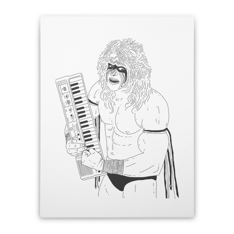 Ultimate Casiotone Warrior Home Stretched Canvas by velcrowolf