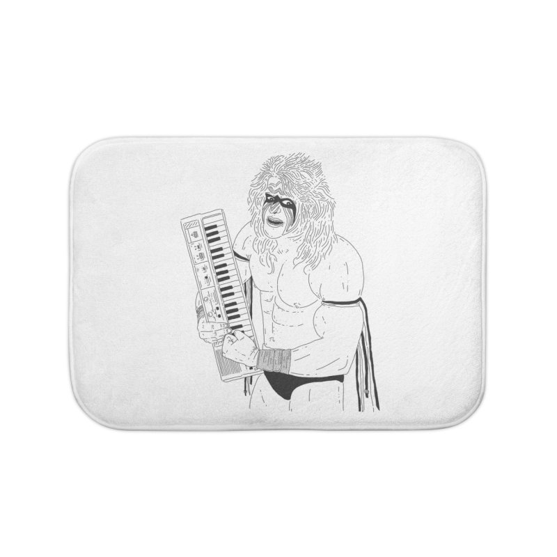 Ultimate Casiotone Warrior Home Bath Mat by velcrowolf