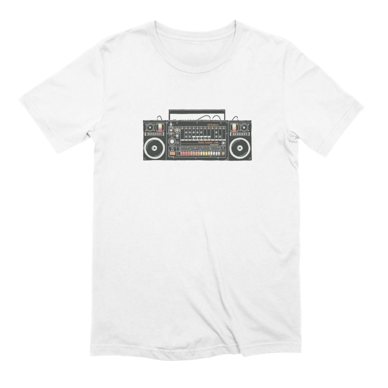 destroyer of batteries Men's Extra Soft T-Shirt by velcrowolf